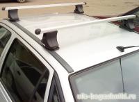 Багажник на крышу Daewoo Nexia Атлант (Россия) - прямоугольные дуги
