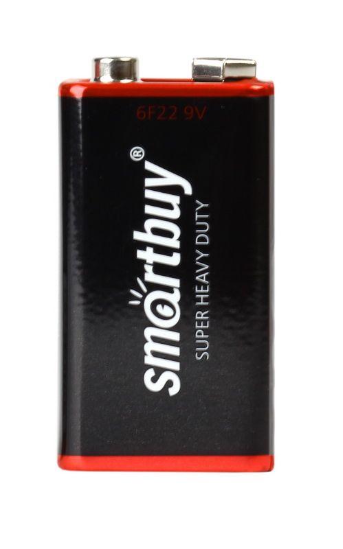 Батарейка KРОНА солевая Smartbuy 6F22/1S