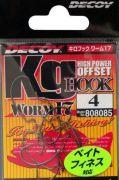 Офсетный Крючок Decoy Kig Hook Worm 17