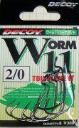 Офсетный Крючок Decoy Worm 11 Tournament