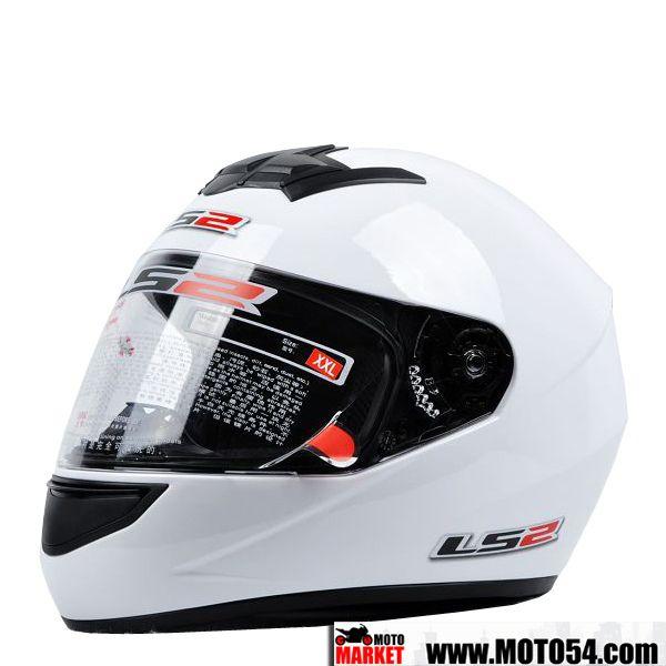 Мотошлем LS2 White