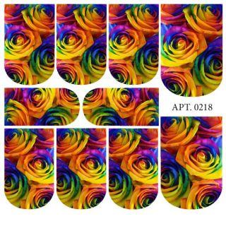 Слайдер-дизайн для ногтей № 0218