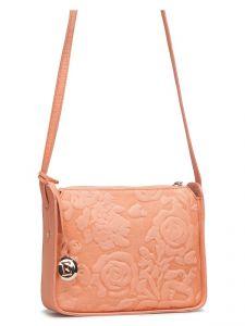 Коралловая женская сумка