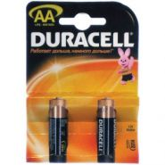 Батарейка LR06 DURACELL BASIC LR06 2BL