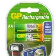 Аккумуляторная батарея GP AA R06-2BL NiMh (2700 mAh)