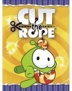 "Блокнот 48л А6ф клетка на скобе серия ""Cut the rope"" (арт. 48Б6B1) (11772)"