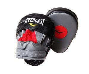 Лапа боксерская Everlast изогнутые Mantis Punch Mitts, красно-чёрные,  артикул 410000