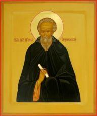 Икона Никон Радонежский (рукописная)