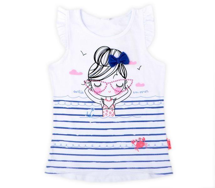 Блуза для девочки Море