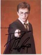 Автограф: Дэниэл Рэдклифф. Гарри Поттер