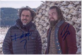 Автографы: Леонардо ДиКаприо, Алехандро Гонсалес Иньярриту. Выживший