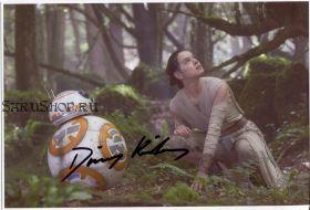 Автограф: Дэйзи Ридли. Звёздные войны: Пробуждение силы.