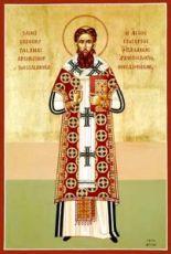 Григорий Палама (рукописная икона)