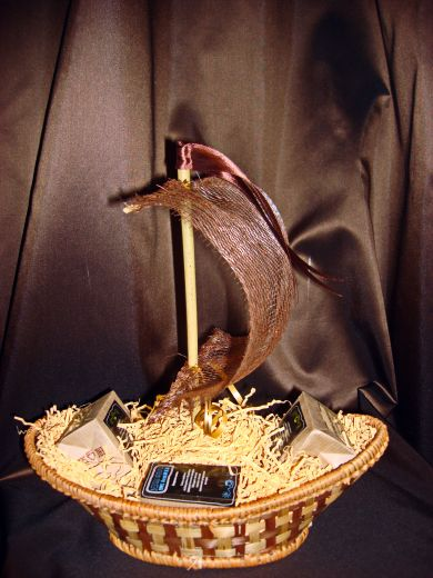 Парусник с кофе - подарочный набор