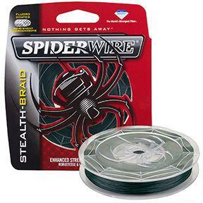 Купить Леска плетеная Spiderwire Stealth Braid 137 м желтая