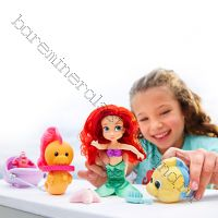 Кукла Ариель русалочка мини. Набор игрушек.