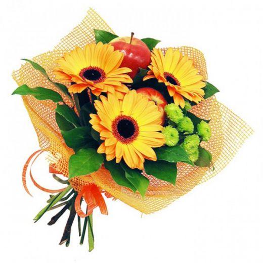 Букет цветов СОЛНЕЧНЫЙ