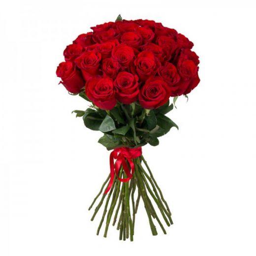 Букет цветов 25 РОЗ