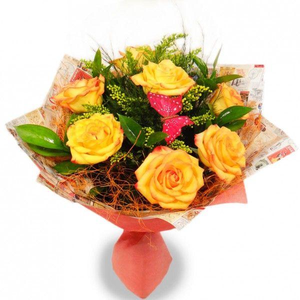 Букет цветов КЛАССИЧЕСКИЙ