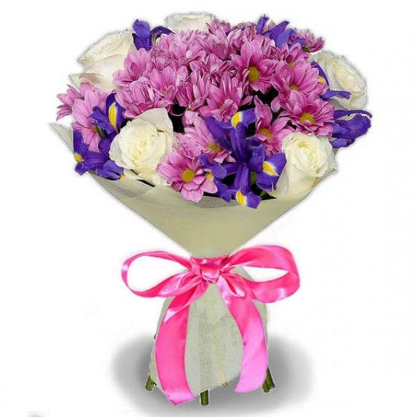 Букет цветов ЧУВСТВЕННЫЙ