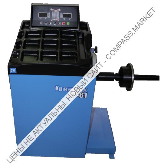 Балансировочный станок с ручным вводом данных VT-61, Remax (Китай)