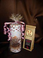Подарочная банка с кофе  - подарочный набор с кофе.
