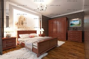 Спальня Палермо №1 Массив DreamLine