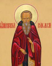 Иннокентий Комельский (рукописная икона)