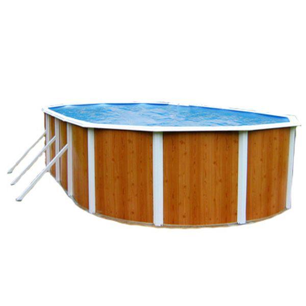 Сборный овальный бассейн Atlantic Pools Esprit Big 10x5,5x1,35 м