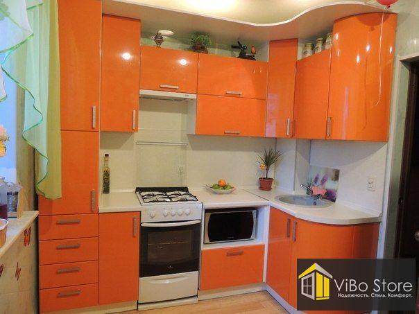 Модульная угловая кухня на 6 кв.м