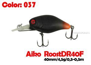 Воблер Aiko Roost cnk DR 40F  40 мм/ 4,5 гр / 0,3 - 0,5 м / цвет - 037