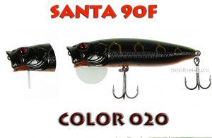 Воблер Aiko SANTA 90F  90 мм/ 16 гр / поверхностный / цвет - 020