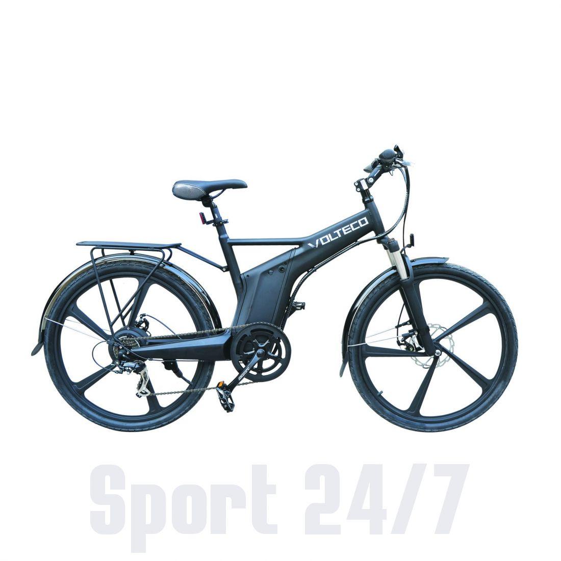 Электровелосипед Велогибрид WERWOLF (112-22)