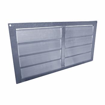Решетка канальная инерционная алюминиевая АРК 300х150