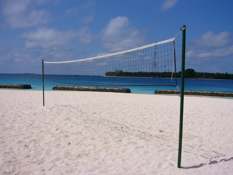 Сетка для пляжного волейбольная нить 2,5 мм, артикул 6025-03