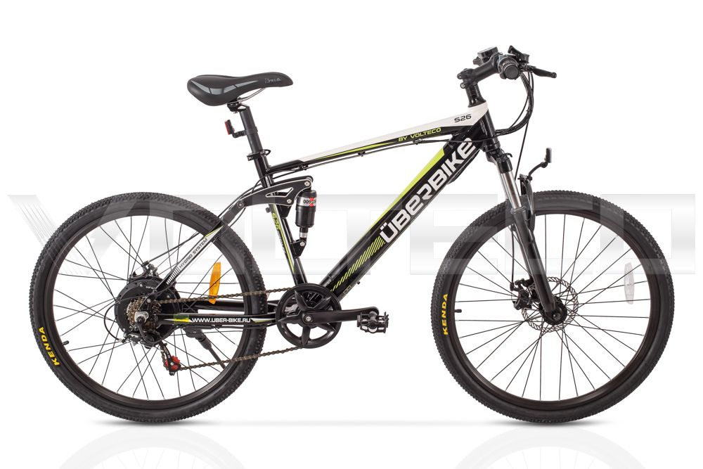 Электровелосипед Велогибрид UBERBIKE S26 350 (172-02)