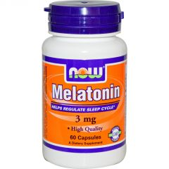 NOW - Melatonin 3mg