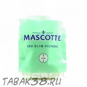 Фильтры для самокруток Mascotte slim (120 шт.)