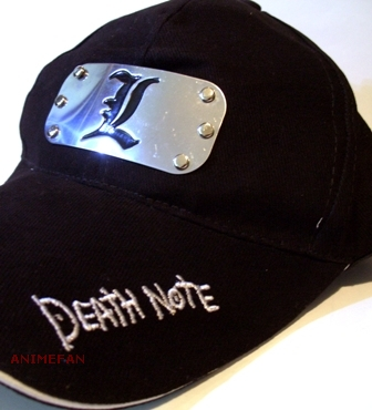 Бейсболка Death Note L_04