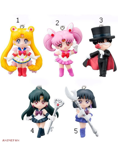 Брелоки Sailor Moon Swing Set 3