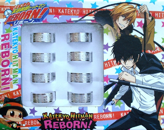 Кольцо Katekyo Hitman Reborn!_01