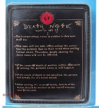 Кошелек Death Note_Note_03