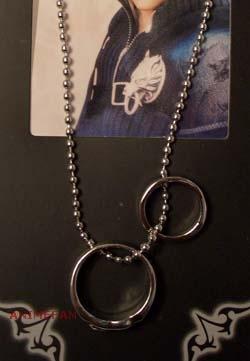 Кулон Final Fantasy VIII Rinoa Double Ring Necklace