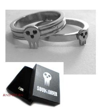 Парные кольца Soul Eater_02