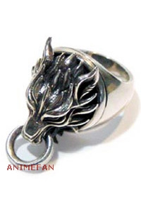 Перстень Final Fantasy VII Cloudy Wolf Ring