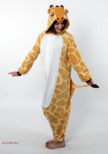 Пижама Кигуруми Жираф_01