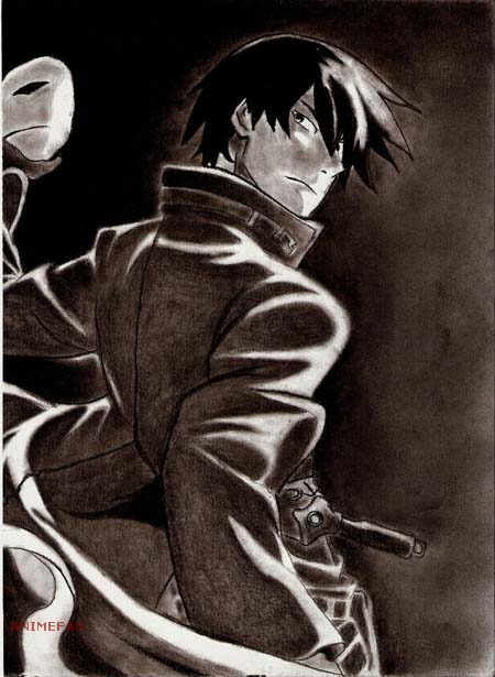 Плакат Darker than Black_02