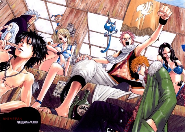 Плакат Fairy Tail_02