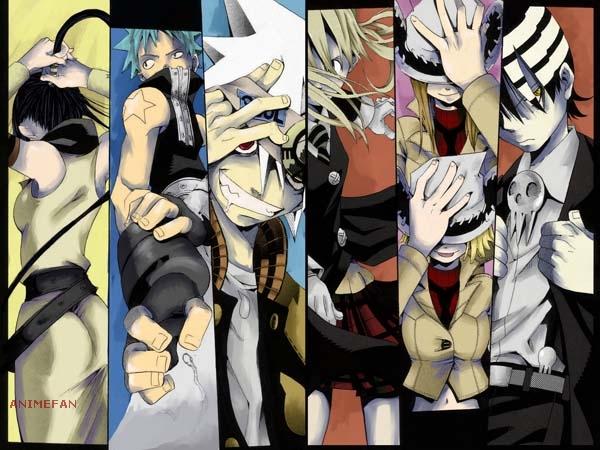 Плакат Soul Eater_02