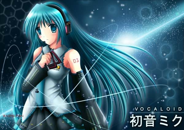 Плакат Vocaloid Hatsune Miku_03